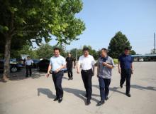 公司实时新闻:潍坊等地干部来实地考察、探讨和规划