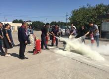 公司消防演习