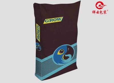 规格: 38*58cm(10kg) 塑编珠光膜 蓝色海豚