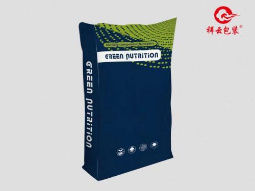 塑编无纺布(20kg)绿波点   规格:45*75cm